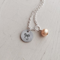 Deployment Necklace, Military, Spouse, Air Force, Marines, Army, Navy, Fiancé, Girlfriend, Mom, Sister, Until You Come Home, Pearl