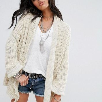 Free People I'll Be Around Cardigan