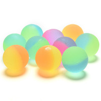 Luminous Children Toy Ball Colored Boy Bouncing Ball Rubber Outdoor Toys Kids Sport Games Elastic Juggling Jumping Balls