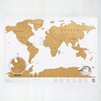 Travel Would Ya Look at Map? by ModCloth