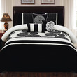 BIRMINGHAM BEDDING SET QUEEN - 7 PC.