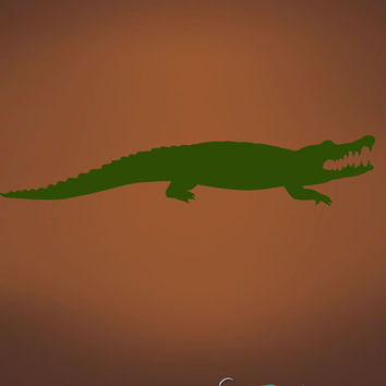 Vinyl Wall Decal Sticker Alligator # 503