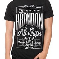 Abandon All Ships Infamous Slim-Fit T-Shirt - 931791