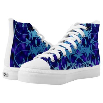 Blue Gate Printed Shoes