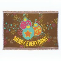 Merry Everything Holiday Throw