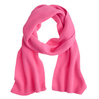 crewcuts Girls Ribbed Cashmere Scarf