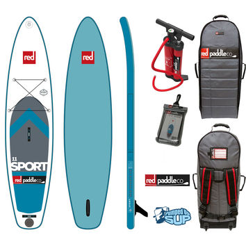 """Red Paddle Co SPORT MSL 11'x30"""" Inflatable Stand Up Paddle Board SUP 2017"""