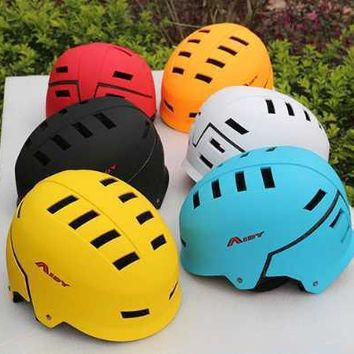 AIDY Men Women Multi-Purpose Skateboard Helmets BMX Roller Skating Mountain Bike Outdoor Sport Bicycle Cycling Helmet Equipment