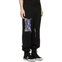 OFF-White Woman Men Fashion Pants Trousers Sweatpants