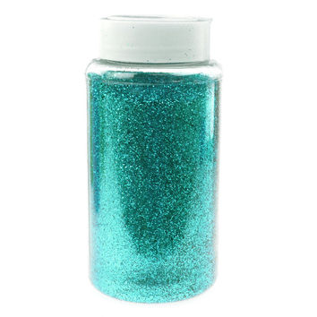 Fine Glitter Arts and Crafts, 1-pound Bulk, Aqua