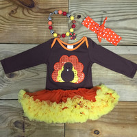 Sequin Turkey Tutu Onesuit