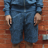 Diamond Supply Co. - Radiant Loop Sweatshorts - Heather Navy
