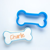 The Charlie Dog Bone Cookie Cutter