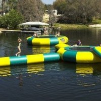 Kidwise 20`. Water Trampoline Log: Toys & Games