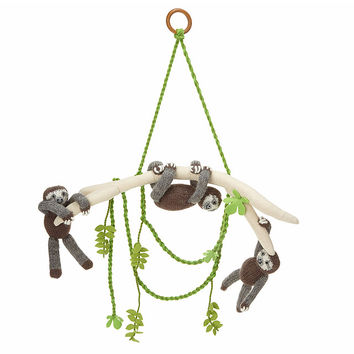 Sloth Pals Mobile | handmade baby toy