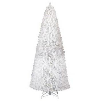 10.5 ft. Pre-Lit White Alberta Spruce Artificial... : Target