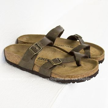 Mayari Golden Brown Birkenstocks