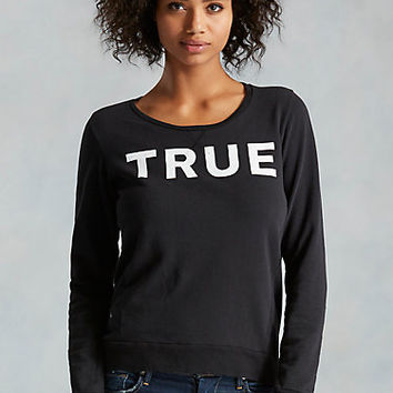 TRUE LOGO WOMENS SWEATSHIRT