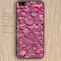 iPhone 6 case Gold COINS hot pink iphone case,ipod case,samsung galaxy case available plastic rubber case waterproof B117