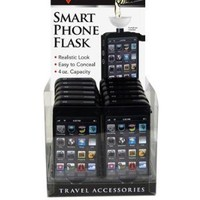 Premium Cell Smart Phone Iphone Style Alcohol Liquor Flask Looks Real