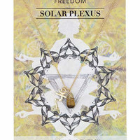 Solar Plexus Chakra Necklace - Yellow