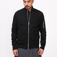 Mens Vandals Dark MA1 Flight Bomber Jacket at Fabrixquare