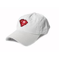 SC Columbia Gameday White Hat by State Traditions