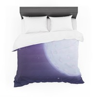 "Fotios Pavlopoulos ""Full Moon"" Night Sky Featherweight Duvet Cover"