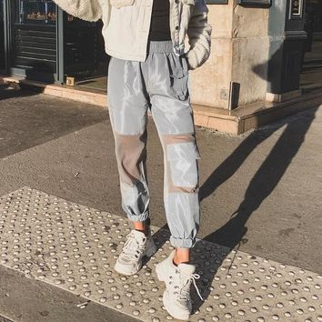 Casual Hot Sale Women's Fashion With Pocket Pants [2076687794273]