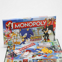 Urban Outfitters - Sonic The Hedgehog Monopoly Board Game