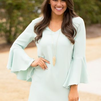 t's A Tea Party Dress in Sage | Monday Dress Boutique
