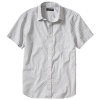 Banana Republic Mens Factory Gray Gingham Shirt