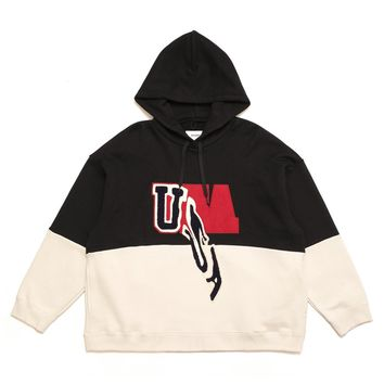 DROP PATCH EMBROIDERY HOODIE