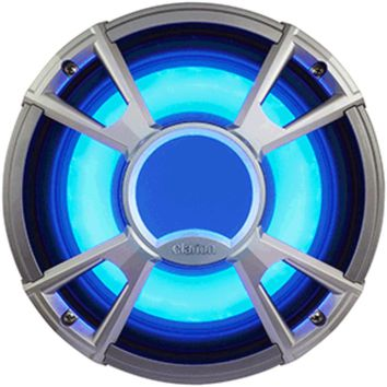 Clarion CMQ2512WL 10 4-OHM Subwoofer 400W w/LED - Light Blue