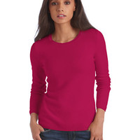 Lord & Taylor Fall Gem Collection Cashmere Crewneck Pullover Sweater