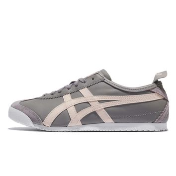 Asics Onitsuka Tiger Mexico 66 Aluminum Birch Leather Men Shoe Sneaker D4J2L9602