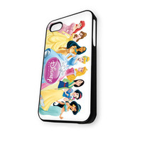 Walt Disney Princess (Ariel Little Mermaid Snow White) iPhone 5/5S Case