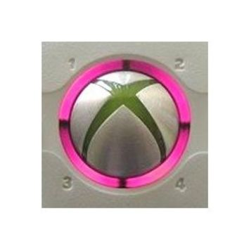 Xbox 360 controller led mod RING OF LIGHT LEDS- PINK