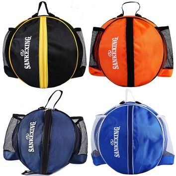 Portable Basketball Backpack Water Bottle Ball Pack Soccer Sports Bags Kids Football Kits Waterproof Volleyball Basketball Bag