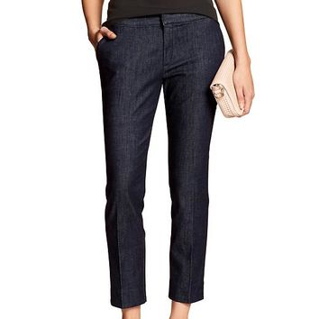 Banana Republic Womens Factory Hampton Fit Cropped Jean