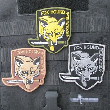 Embroidered  patch armband custom stickers Metal Gear Solid foreign armies Chapter 3 colors military patches badges