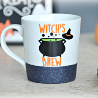 Witch's Brew Coffee Mug / Witch Mug