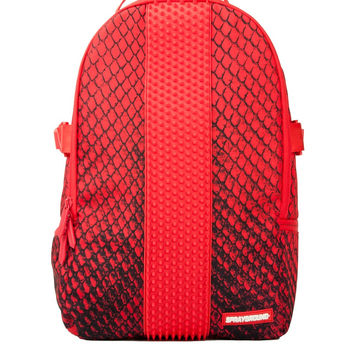 Red Snake Spython Backpack (SPRAYGROUND)