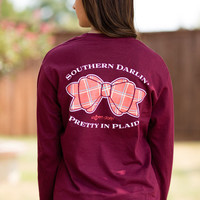 Southern Darlin Long Sleeve-Pretty In Plaid