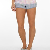 Almost Famous Tie Dye Stretch Short