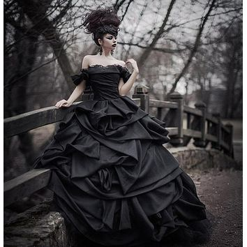 The Black Ball Gown