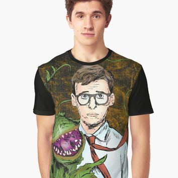 'Audrey 2' Graphic T-Shirt by RGIllustrations