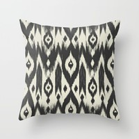 barely there; Throw Pillow by Pink Berry Patterns