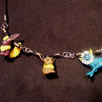Custom Pokemon Jewelry: Charm Necklace - You pick the characters