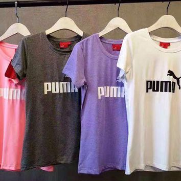Puma: Puma T-shirt with 4 colors
